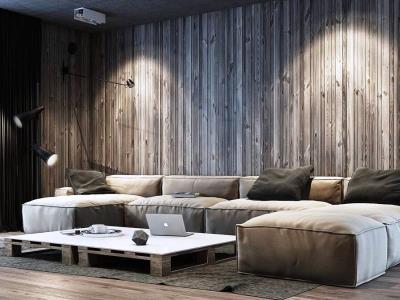 Стеновые панели в индустриальном стиле