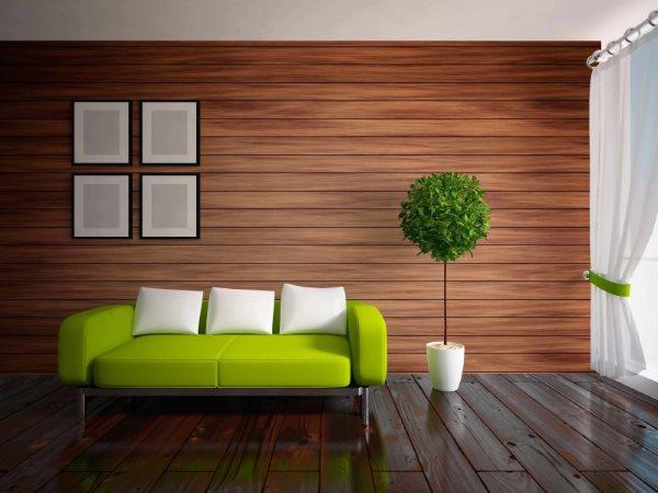 Листовые стеновые панели визуализация